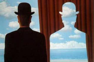 Magritte-Decalcomanía