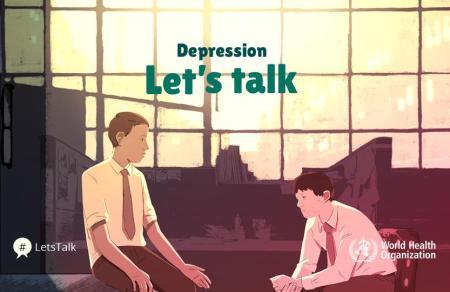 7 Aprile 2017, Giornata mondiale della salute 2017. Depressione: parliamone