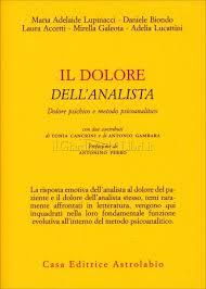 """""""Il dolore dell'analista""""  Lupinacci, Biondo, Accetti, Galeota, Lucattini. Recensione di L. Colombi"""
