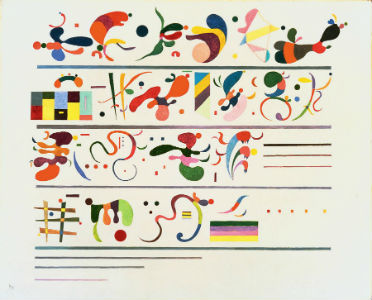 Wassily Kandinsky - Succession, 1935
