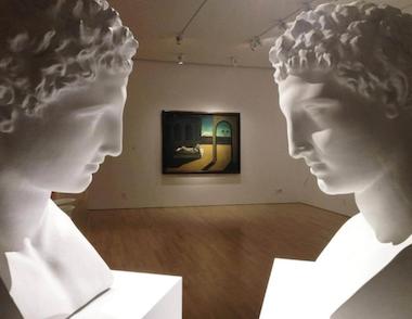 Opere di Giulio Paolini e Giorgio De Chirico, CIMA, New York