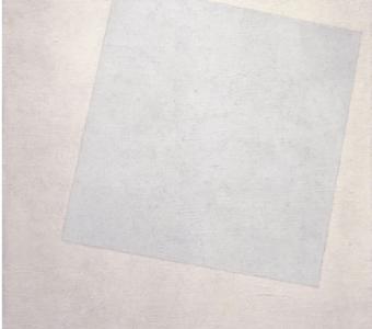 Quadrato bianco su fondo bianco Kazimir Malevic 1918