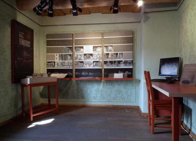 La stanza dei piani e progetti di Centro di Sigmund Freud a Příbor