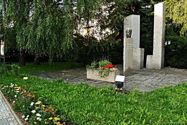 Monumento di Sigmund Freud a Příbor. Foto Stanislava Slováková
