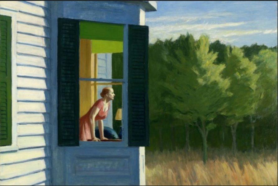 Edward Hopper Cape Cod Morning, 1950