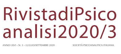 Rivista di Psicoanalisi - 2020/3