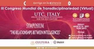 3° Congresso Mondiale sulla Transdisciplinarità 26/03/21