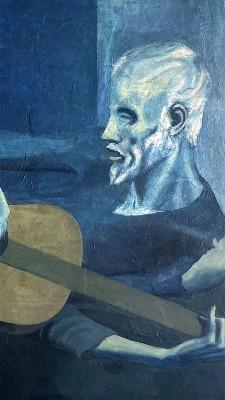 Il-vecchio-chitarrista-cieco-PABLO PICASSO 1903