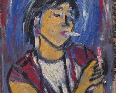 The woman whit the Cigarette (Daniel Pultorak)
