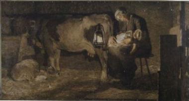 Andrea Segantini, Le Due Madri - 1889 -
