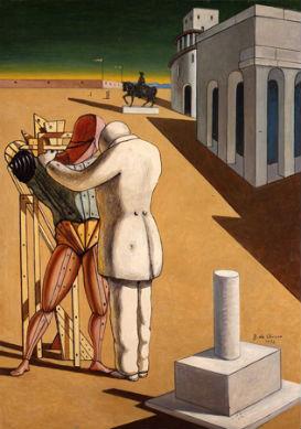 """Figliol prodigo"", Giorgio De Chirico, 1922"