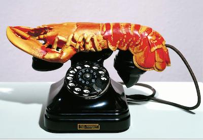 Duchamp_TELEFONO ARAGOSTA 1936