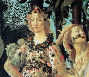La Primavera Sandro Botticelli _particolare