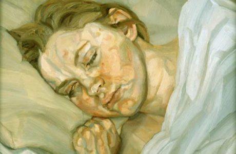 "'Sleeping Girl"", 1980, by Lucian Freud"